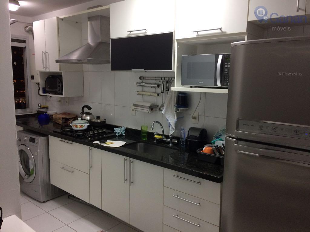 Apartamento residencial para locação, Campo Belo, São Paulo.