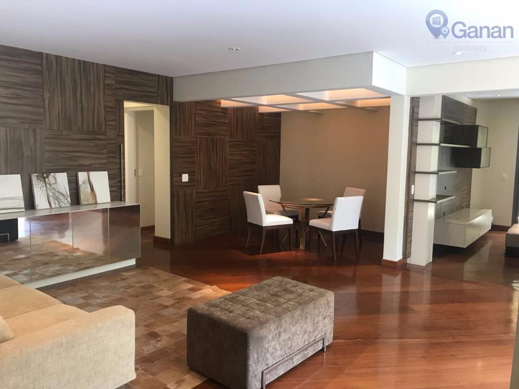 Apartamento residencial para venda e locação, Moema, São Paulo.