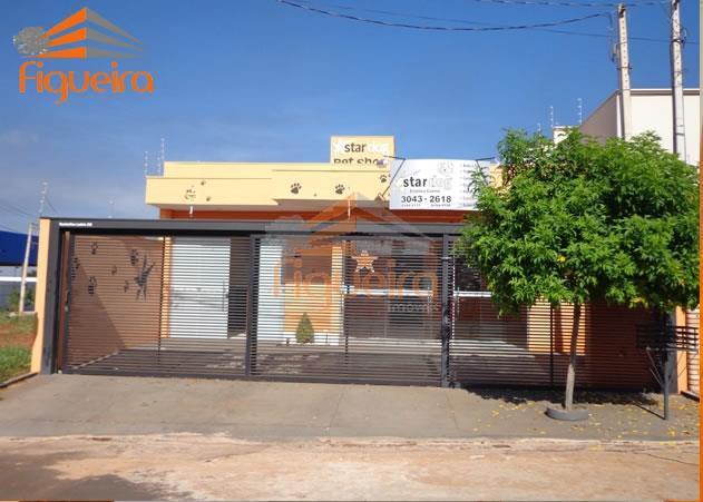 Casa comercial à venda, Jardim Universitário, Barretos.