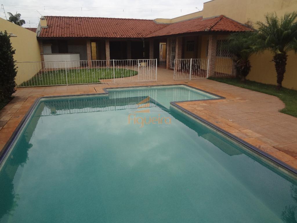 Casa  residencial para locação, Jockey Club, Barretos.