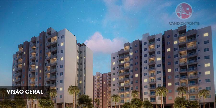Apartamento residencial à venda, Parque Dois Irmãos, Fortaleza.