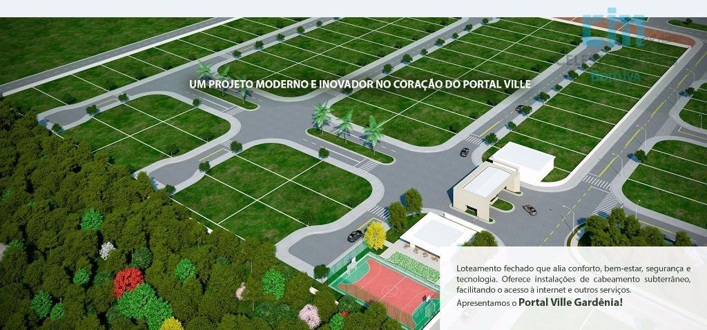 Terreno  residencial à venda, Portal Ville Gardenia, Boituva.