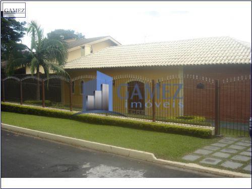 Casa residencial à venda, Nirvana, Atibaia - CA0080.