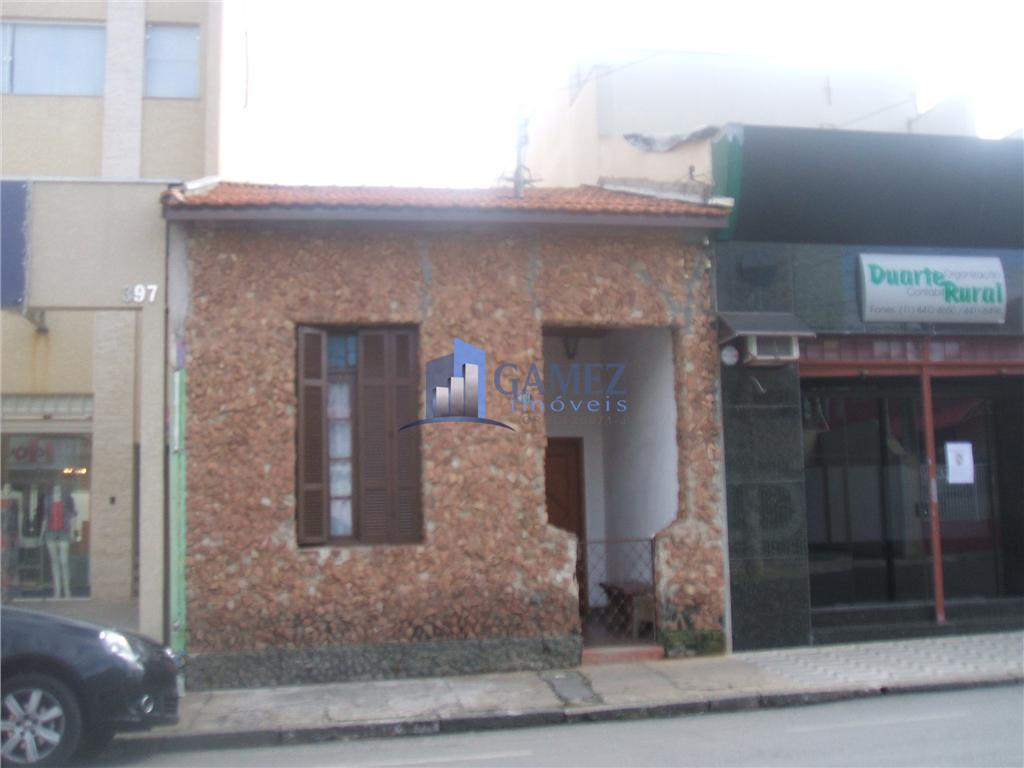 Casa  comercial à venda, Centro, Atibaia.