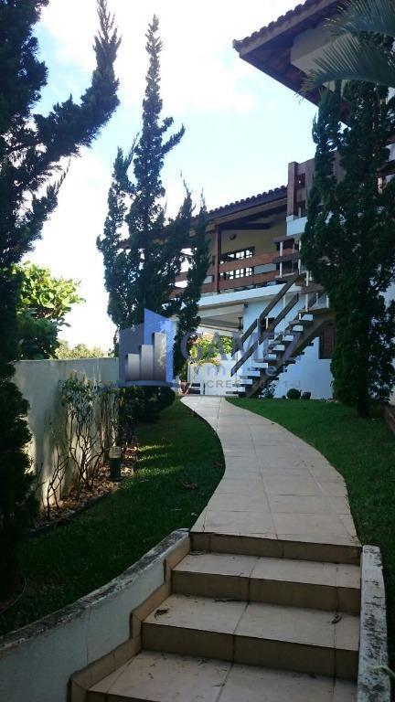 Casa residencial à venda, Condomínio Fechado, Atibaia - CA0619.