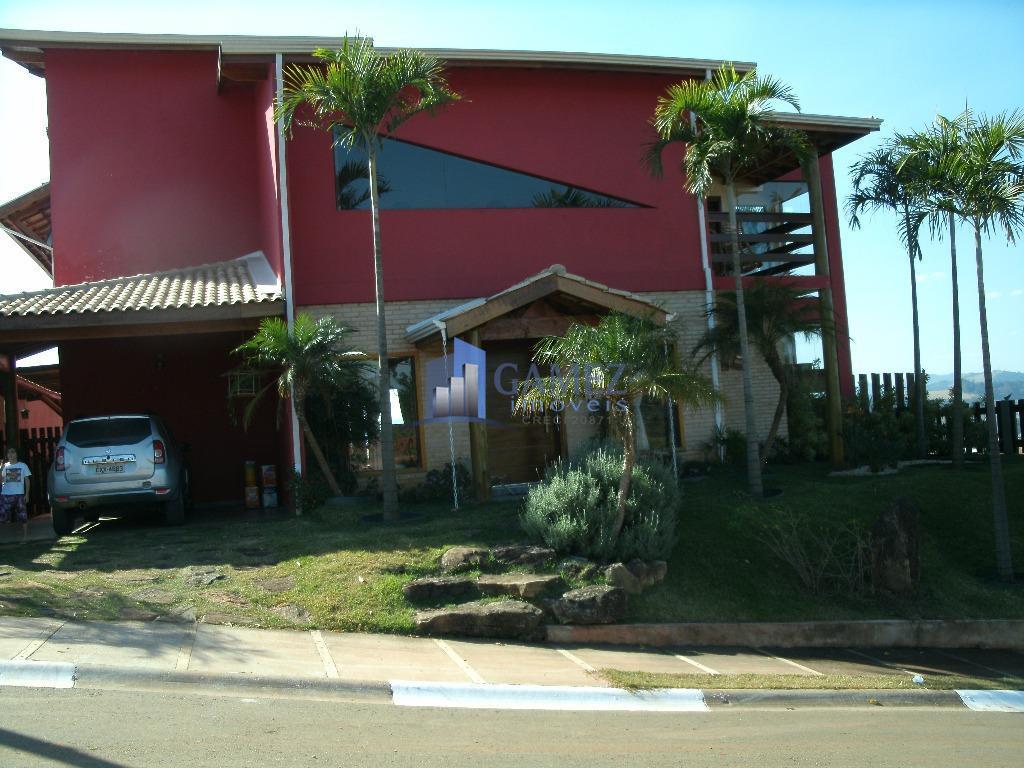 Casa residencial à venda, Condomínio Fechado, Atibaia - CA0641.
