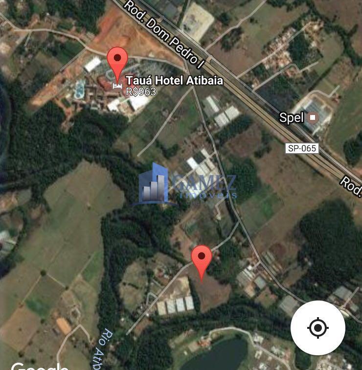 Área industrial à venda, Jardim Brogotá, Atibaia.