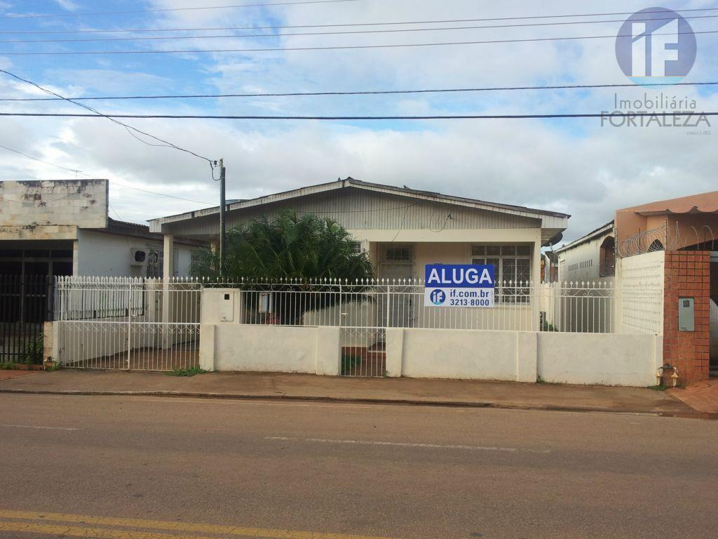 Casa  comercial para locação, Cadeia Velha, Rio Branco.