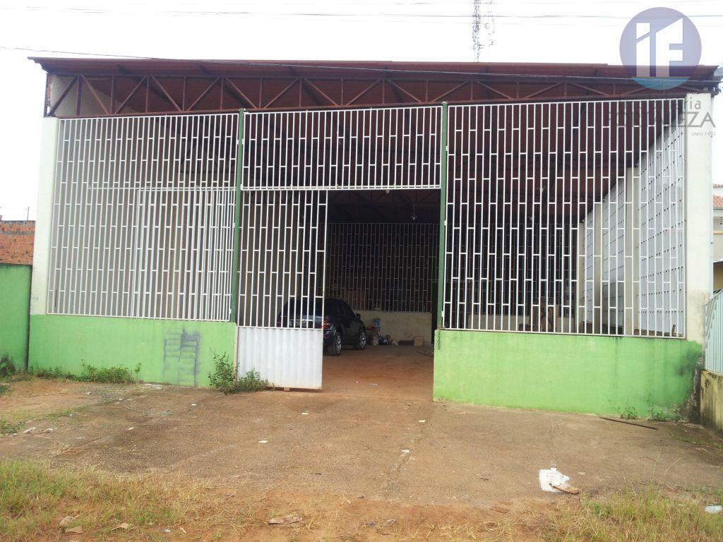 Galpão  comercial para locação, Nova Esperança, Rio Branco.