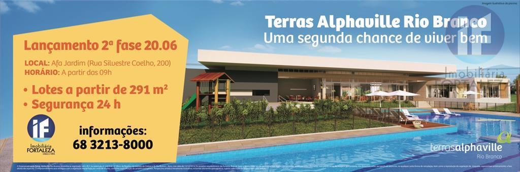 Terreno residencial à venda, Distrito Industrial, Rio Branco.