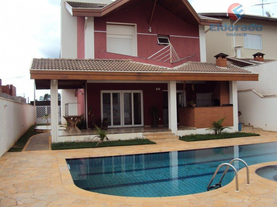 Casa Residencial à venda, Jardim Residencial Parque da Floresta, Sumaré - CA0149.