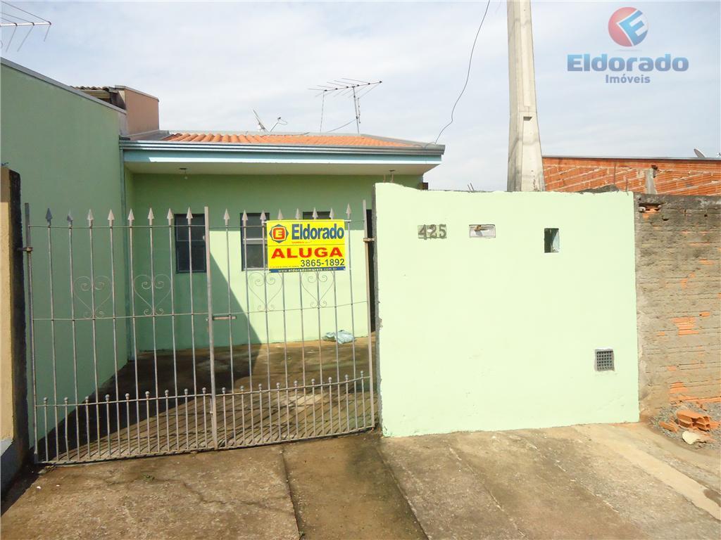 Casa residencial para locação, Loteamento Remanso Campineiro, Hortolândia.