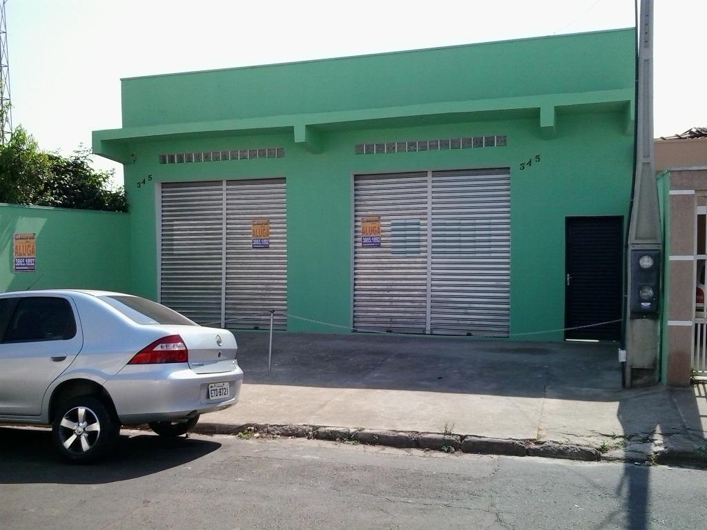 Salão comercial para locação, Loteamento Remanso Campineiro, Hortolândia.