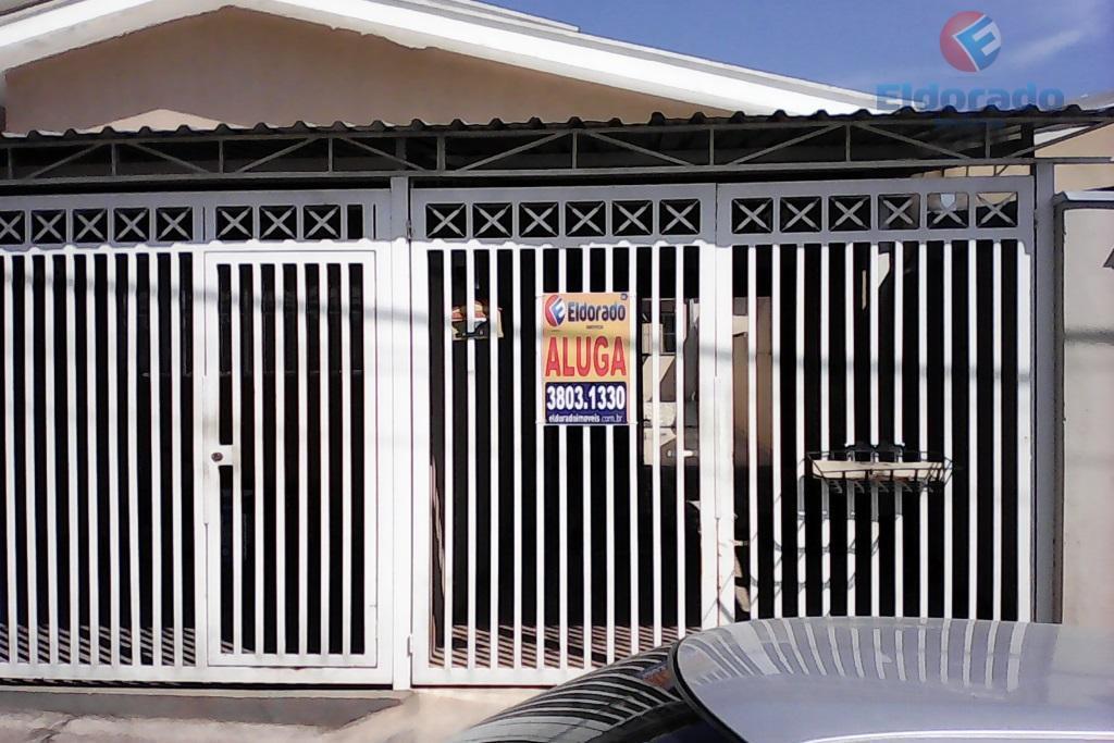 Casa  residencial para locação, Jardim Nova Veneza, Sumaré.
