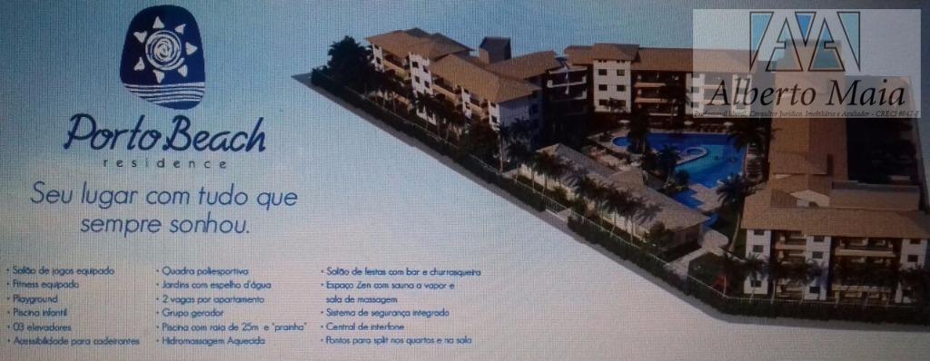 Apartamento residencial à venda, Porto das Dunas, Aquiraz.