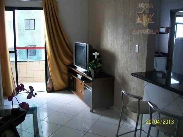 Apartamento 1 dormitório à venda, Cidade Ocian, Praia Grande.SP