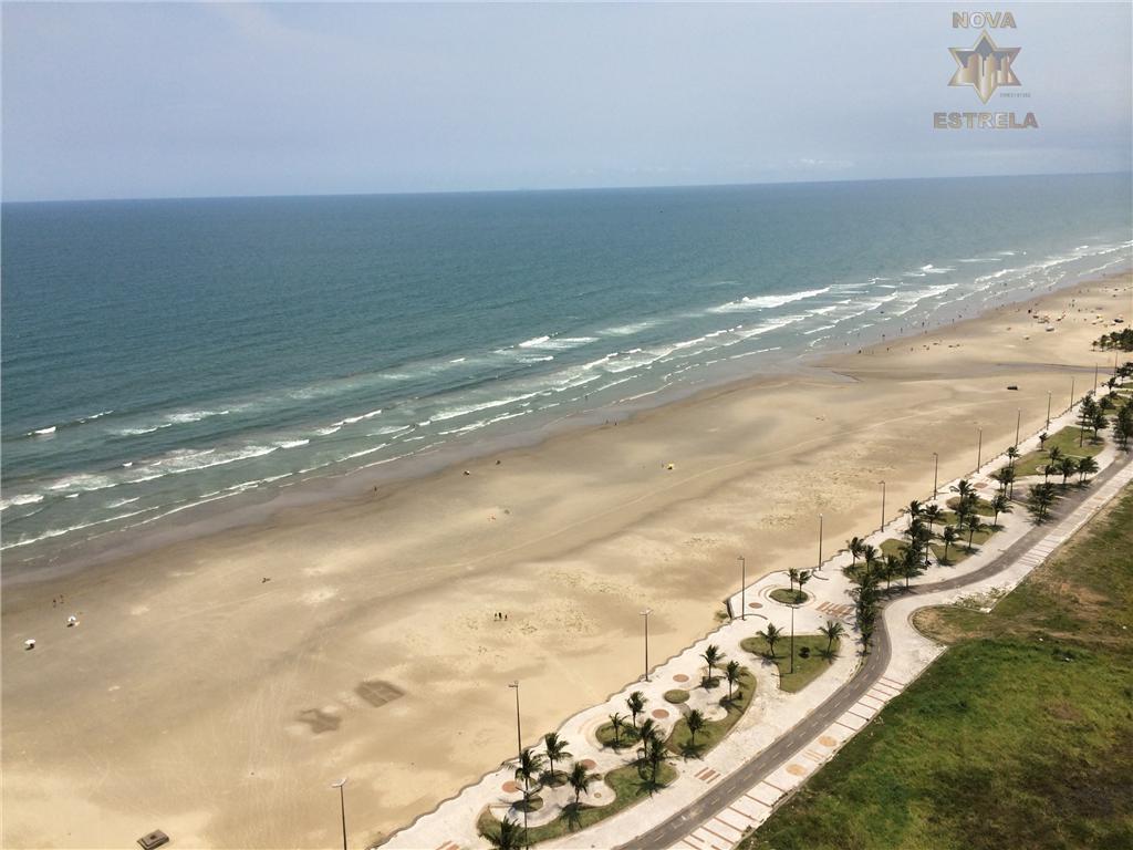 Apartamento 2 dormitórios  à venda, Vila Mirim, Praia Grande - AP0652.