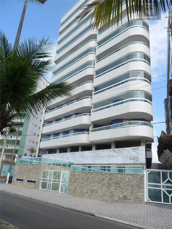Apartamento 2 dormitórios frente ao mar à venda, Vila Caiçara, Praia Grande - AP1051.