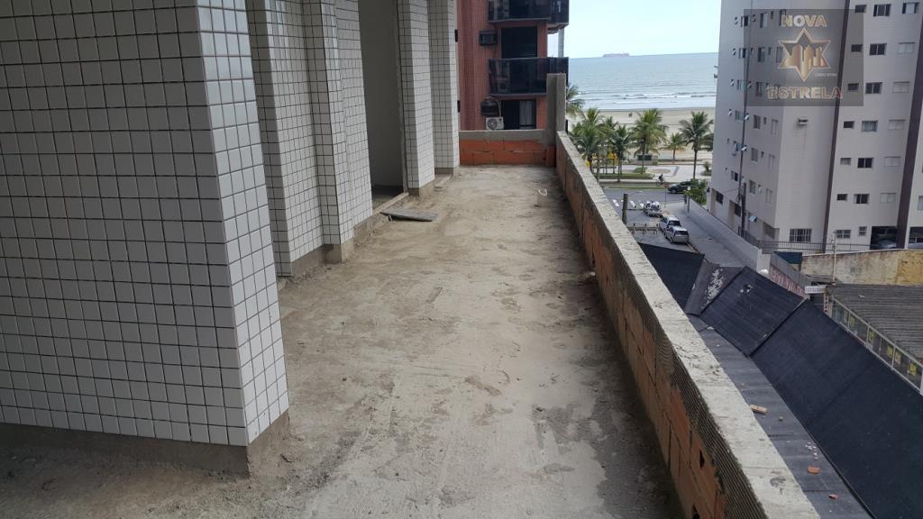 Apartamento 3 dormitórios em obras pagamento direto construtora, Praia Grande.