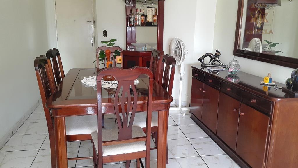 Apartamento 2 dormitórios à venda, Vila Guilhermina, Praia Grande - AP1172.