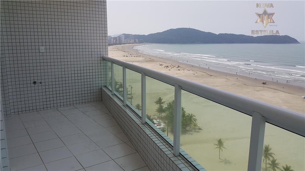 Apartamento 3 dormitórios frente ao mar Praia Grande,apartamento novo praia grande,lançamento praia grande