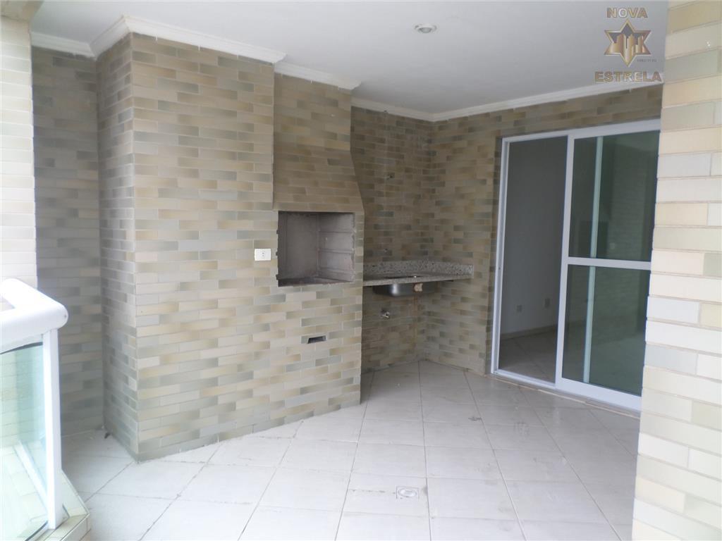 Apartamento 3 dormitórios residencial à venda, Cidade Ocian, Praia Grande.