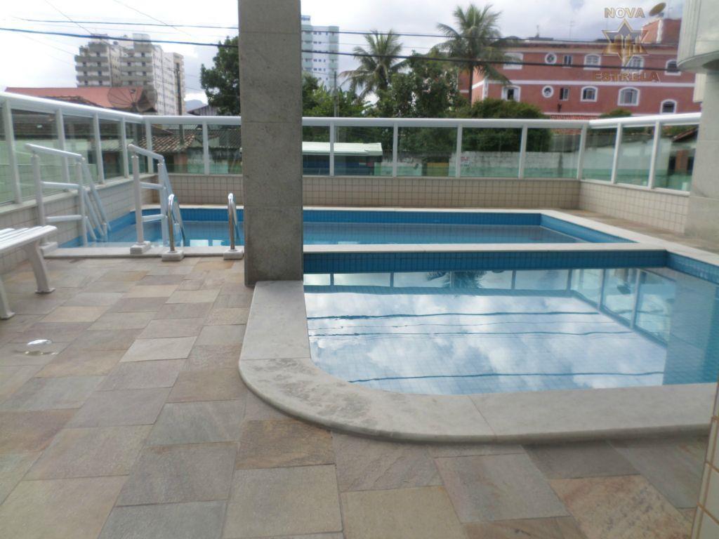 Apartamento 1 dormitório novo à venda, Campo da Aviação, Praia Grande - AP1336.