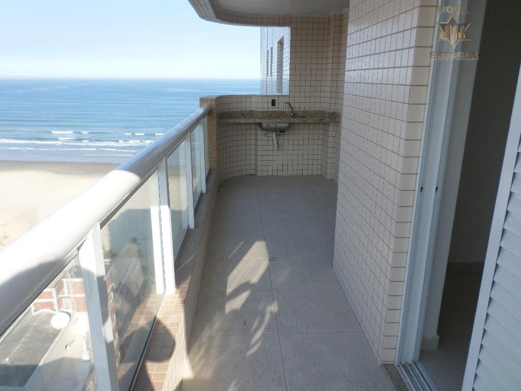 Apartamento 2 dormitórios maravilhoso, Campo da Aviação, Praia Grande - AP1343.