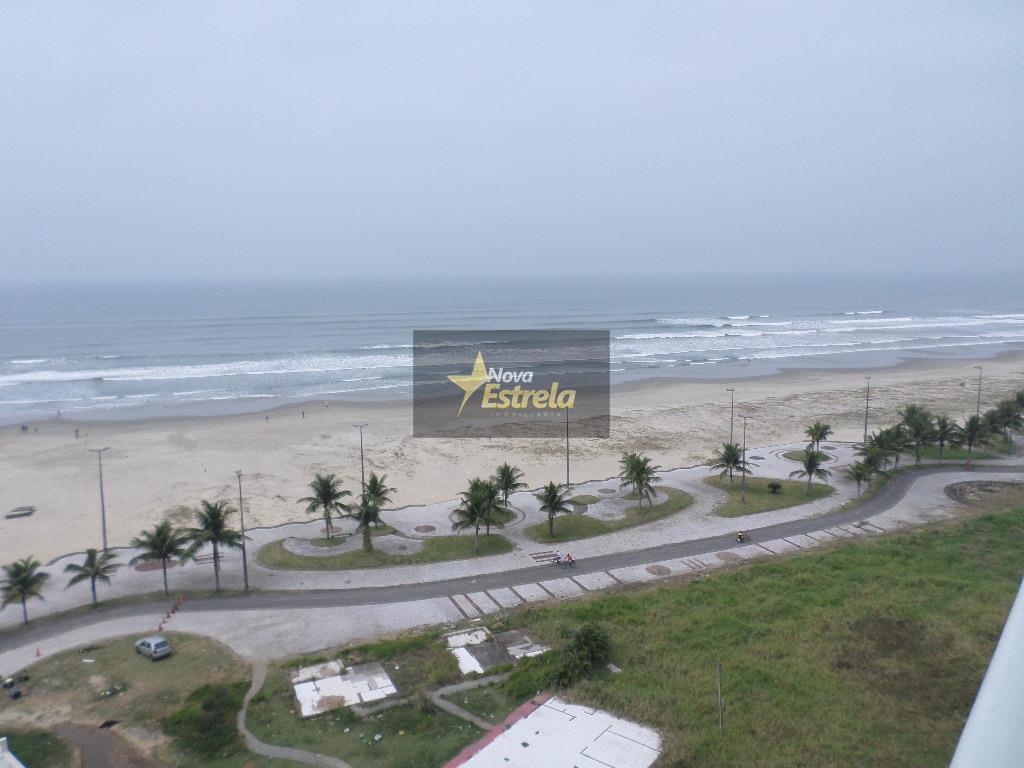 Apartamento Frente ao mar 2 dormitórios, Vila Mirim, Praia Grande.