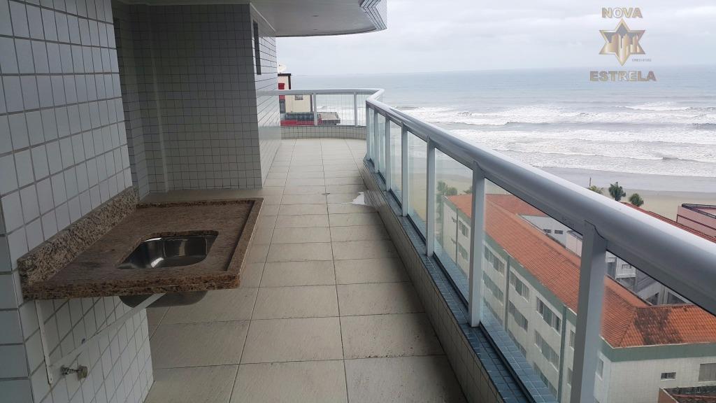 Apartamento 3 dormitórios à venda, Cidade Ocian, Praia Grande.