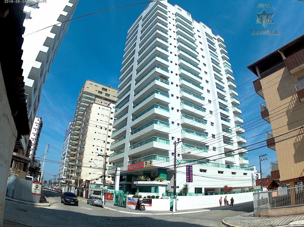 Apartamento 3 dormitórios alto padrão novo na Ocian em Praia Grande entrada de apenas R$150 mil