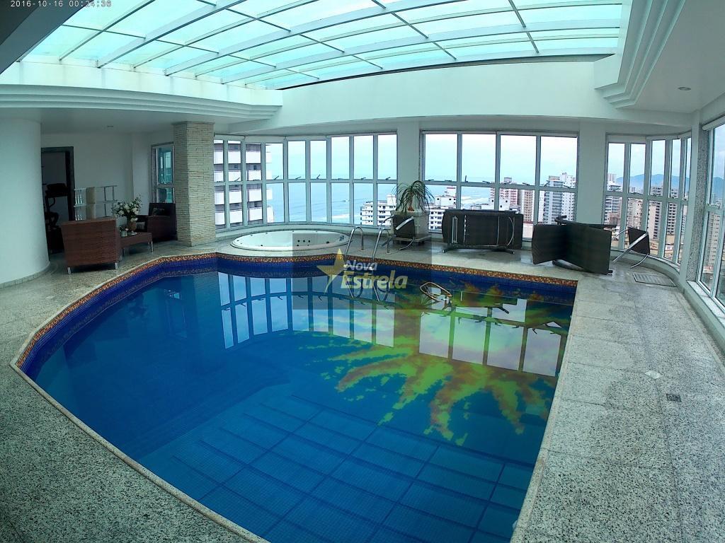 Cobertura Espetacular com vista para o Mar de todos os ambientes , á venda, Vila Tupi, Praia Grande, SP