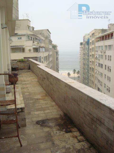 Posto 6 Copacabana, 356 m2, 3 salas, 5 qtos, vista maravilhosa