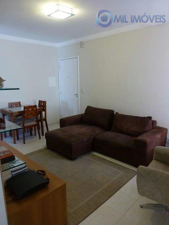 Apartamento residencial à venda, Palmeiras de São José, São José dos Campos.