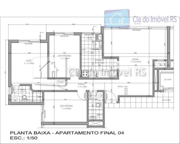 investimentos cia do imóvel rs apartamentos pronto para morar com 3 dormitórios, suite, sala, sacada estendida...
