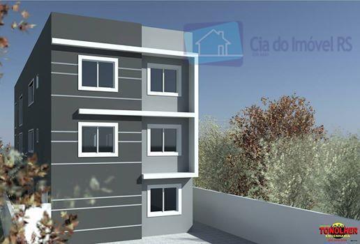 Apartamento residencial à venda, Vila City, Cachoeirinha.