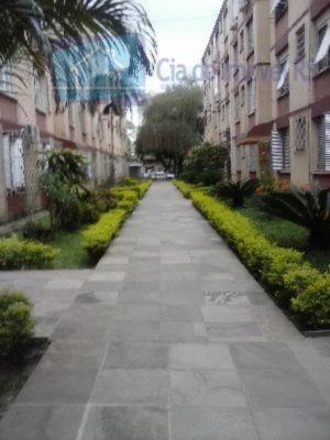 excelente apartamento térreo de um dormitório, living, banho social, área de serviço conjugada com a cozinha,...