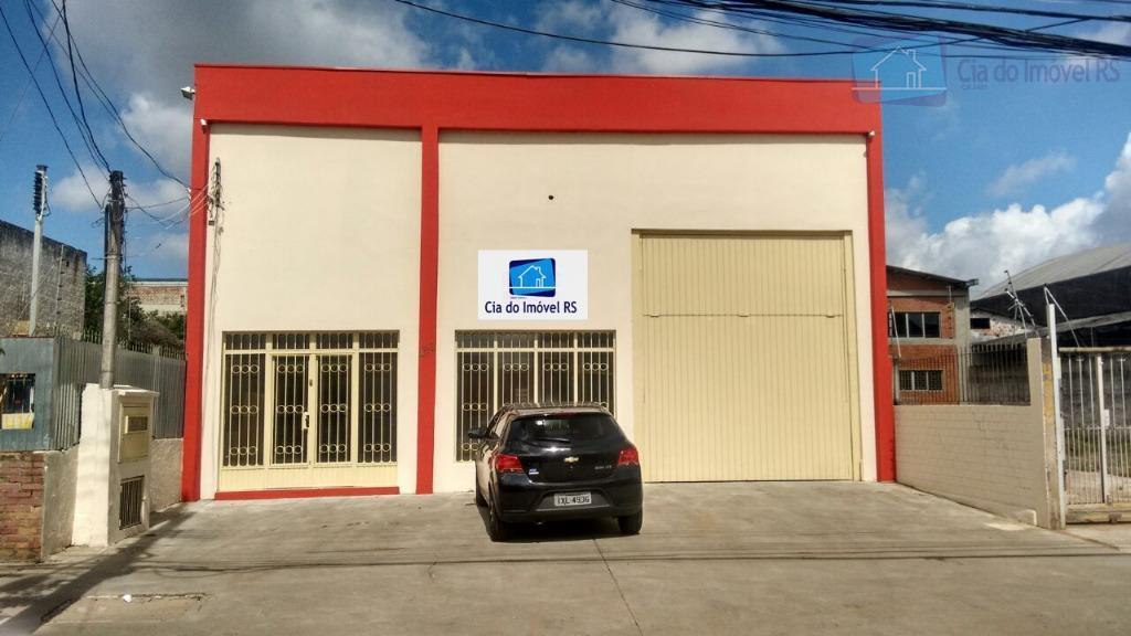 Galpão comercial para locação, Santa Maria Goretti, Porto Alegre.