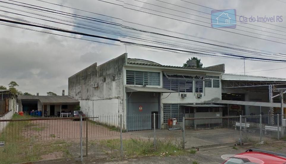 Galpão comercial para locação, Jardim São Pedro, Porto Alegre.