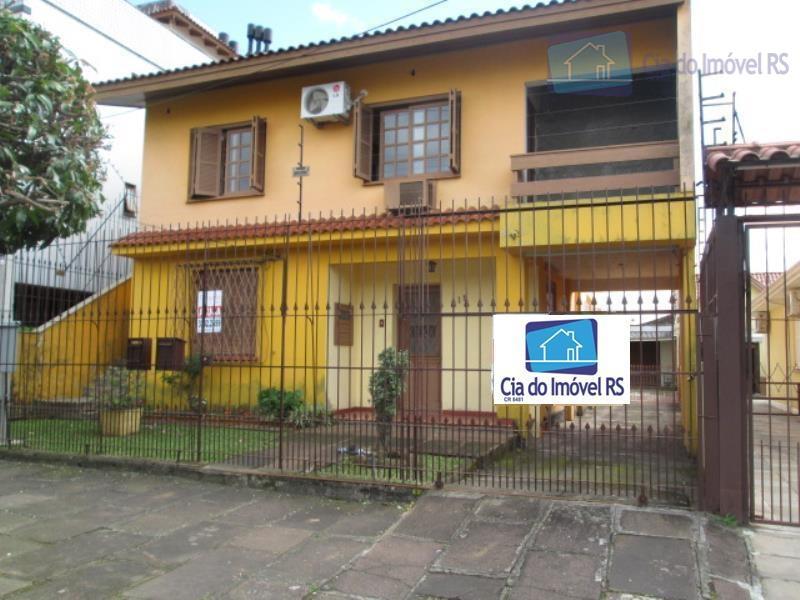 Casa comercial para locação, Jardim Itu Sabará, Porto Alegre.