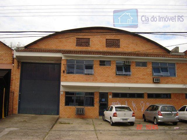 Galpão comercial para locação, São Sebastião, Porto Alegre.
