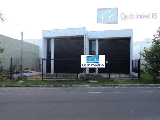 deposito novo cercado com 130m² mais 20m² de mezanino, 2 banheiros refeitorio, testada de 7,5m² e...