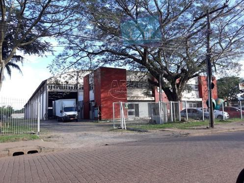 Galpão comercial para venda e locação, São João, Porto Alegre.