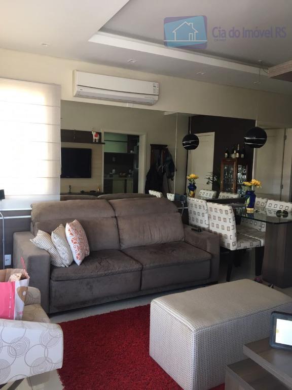 excelente apartamento com 02 dormitórios,sendo 01 suíte,sala,cozinha,banheiro,área de serviços,01 vaga dupla,total infra,portaria 24 horas,piscina aberta e...