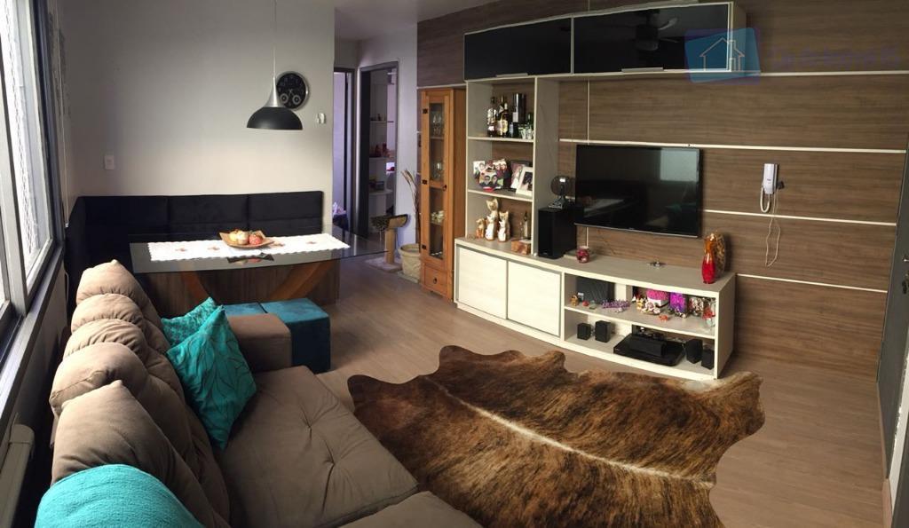 Apartamento com 2 dormitórios à venda, 61 m² por R$ 260.000 - Jardim Lindóia - Porto Alegre/RS