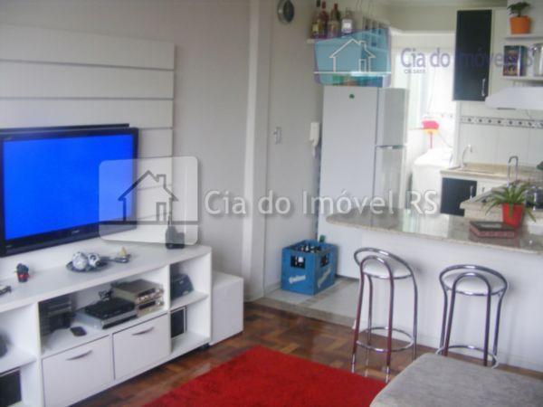 excelente apartamento mobiliado,01 dormitório,sala,cozinha,banheiro,área de serviço.ligue (51) 3341.8626 e agende sua visita, mais opções em www.ciadoimovelrs.com.bratendimento...
