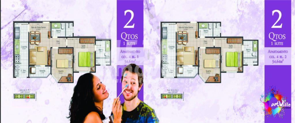Apartamento residencial à venda, Parque Turf Club, Campos dos Goytacazes - AP0384.