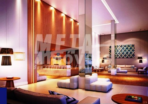 flat de qualidade internacional, com todas as conveniências e infraestrutura primordiais a um empreendimento de renome...