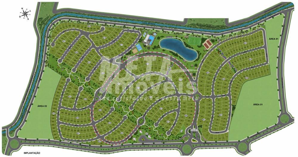 disponibilizamos terreno com 677m², já escriturado. proprietário estuda permuta. condomínio de alto padrão, composto por um...