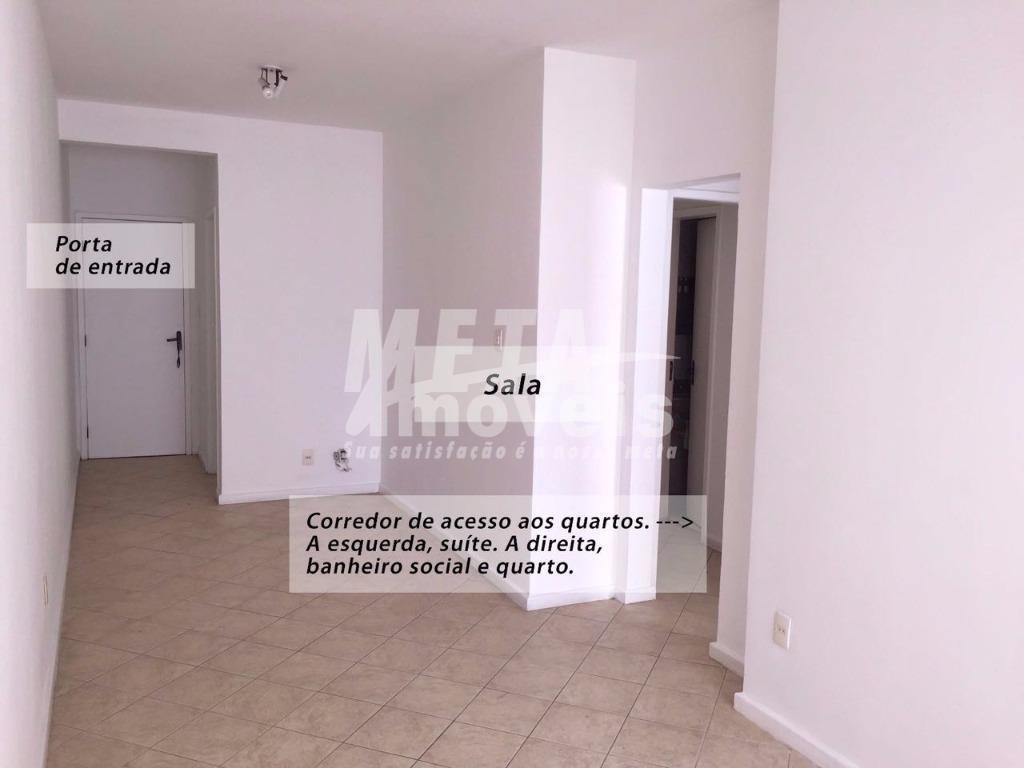 Apartamento residencial para locação, Parque Tamandaré, Campos dos Goytacazes - AP0525.